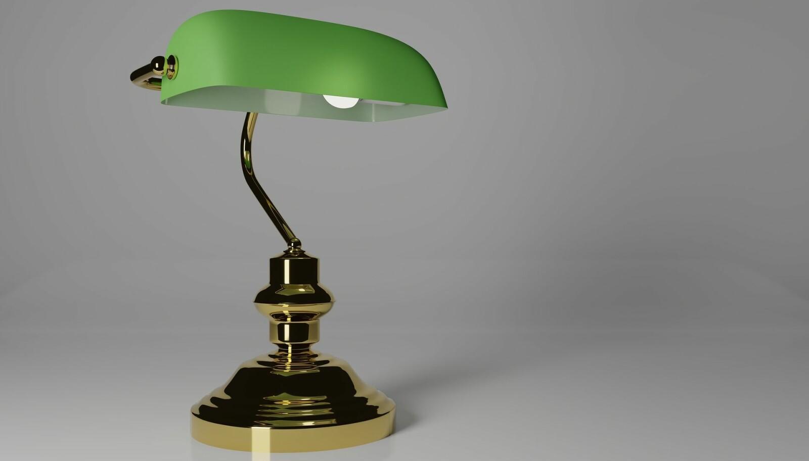 Grønn lampe. IKKE BRUK IGJEN.